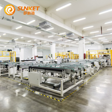 Sunket Solar Panel 375W Half Cell PV 9BB