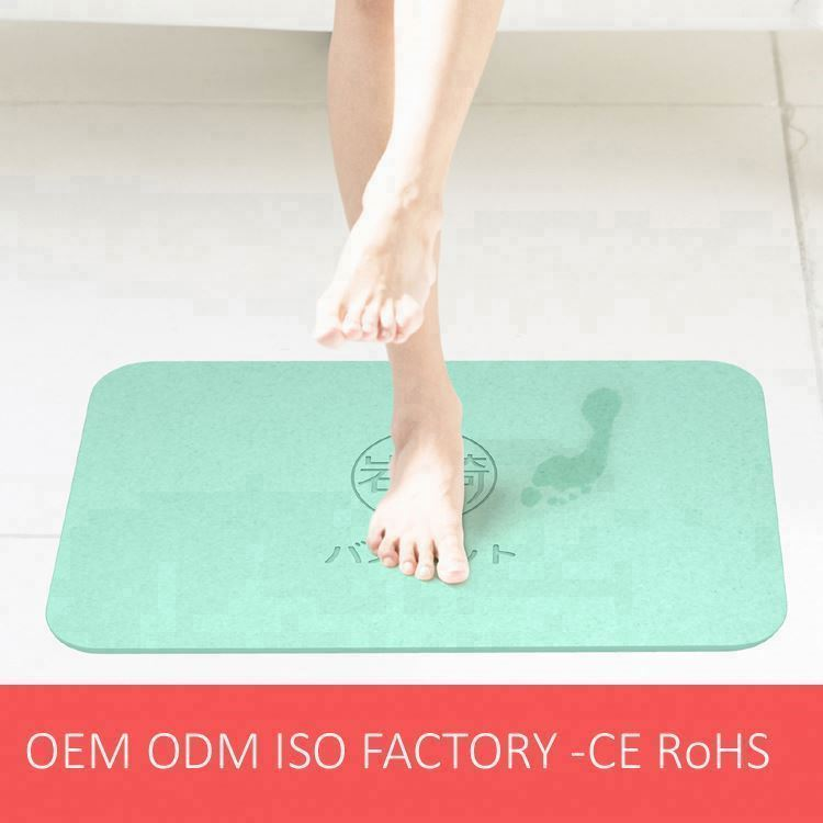 Diatomite Bath Marble Mat with Comfortable feet feeling