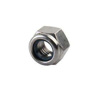 Stainless Steel DIN 985 Nylon Insert Lock Nut