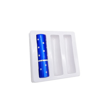 Cosmetic white PET PVC plastic blister inserts tray