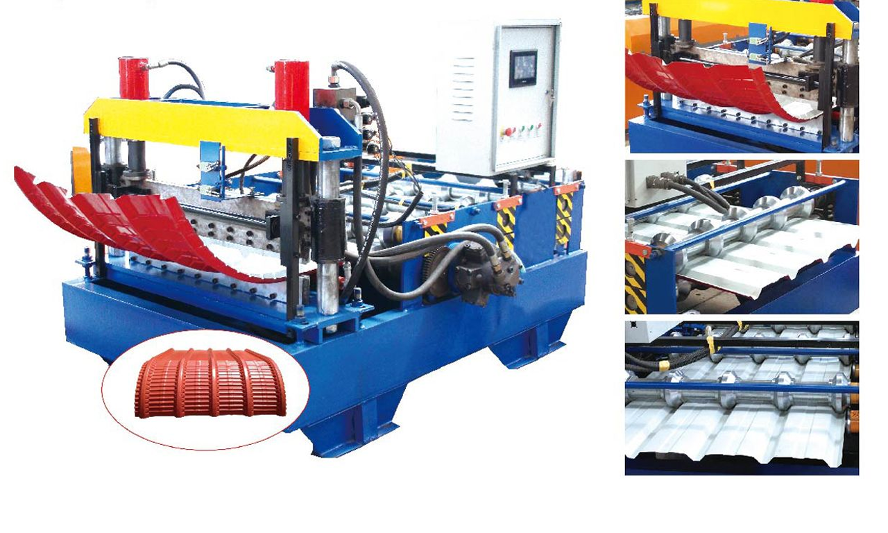 curved roll forming machine
