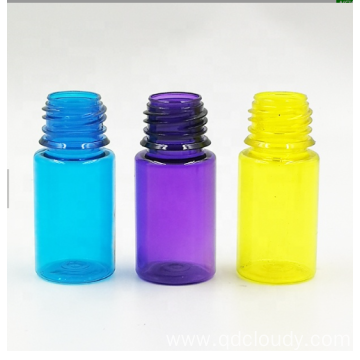 PET E-liquid plastic bottle with child proof cap