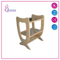 Beauty Salon Cheap Wood Trolley