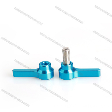T Shape Thumb screw for Machinery Latche Black