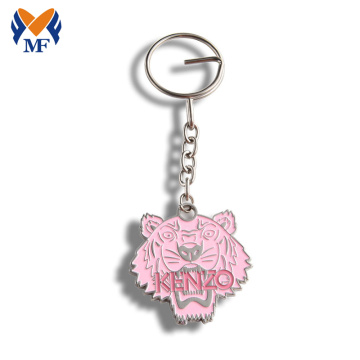 Bulk Personalized Custom Soft Enamel Metal Keychains