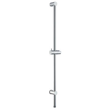 Round Shower Rail With Water Outlet