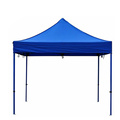 Blue 420D fabric commercial display pop-up folding tent