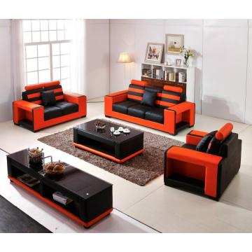 SOFA SETS RED COLOR