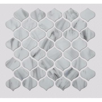 Glass Mosaic Tiles For Bathroom Floor And Wall