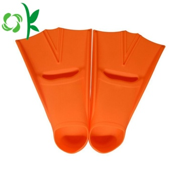 Silicone Diving Swimming Pool Fins Lightweight