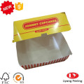 Cheap burger packaging box food box