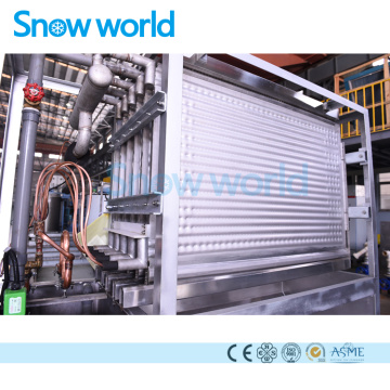 Snow world Plate Ice Machine Commercial 5T