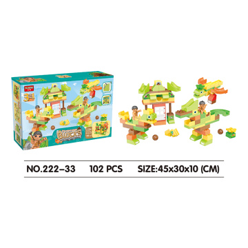 Yuming building blocks 102PCS