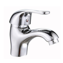Chrome Cold and Hot Water Basin Faucet