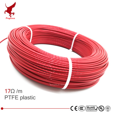 multipurpose 24k 17ohm PTFE carbon fiber heating cable 5V-220V floor heating high quality infrared heating wire warm floor
