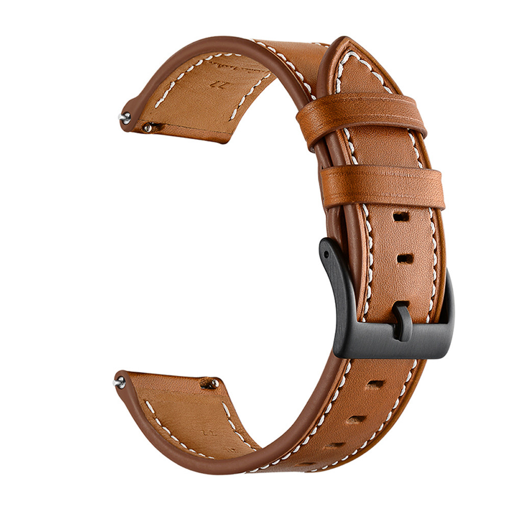 Genuine Leather Watchband For Haylou solar LS05 Man Replacement Wrist Strap For Haylou solar LS02 Smart Watch Bands accessories