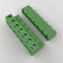 7 pin 7.62 pitch straight pluggable terminal block