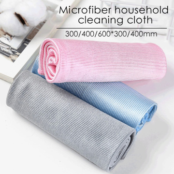 No Trace Absorbable Soft Microfiber No Lint Window Car Rag Cleaning Towel Kitchen Cleaning Cloth Wipe Glass Cloth Scouring Pad