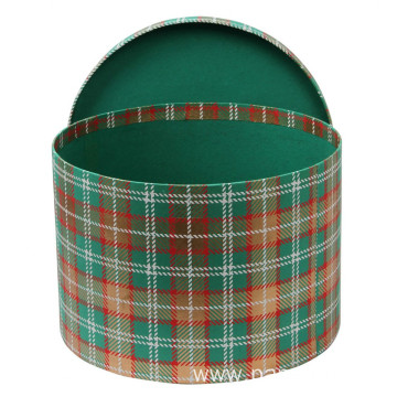 Large Empty Round Fashion Packaging Box