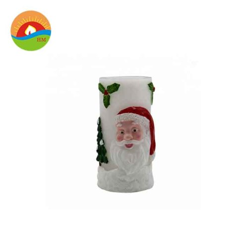 Reusable christmas decoration led flameless candle