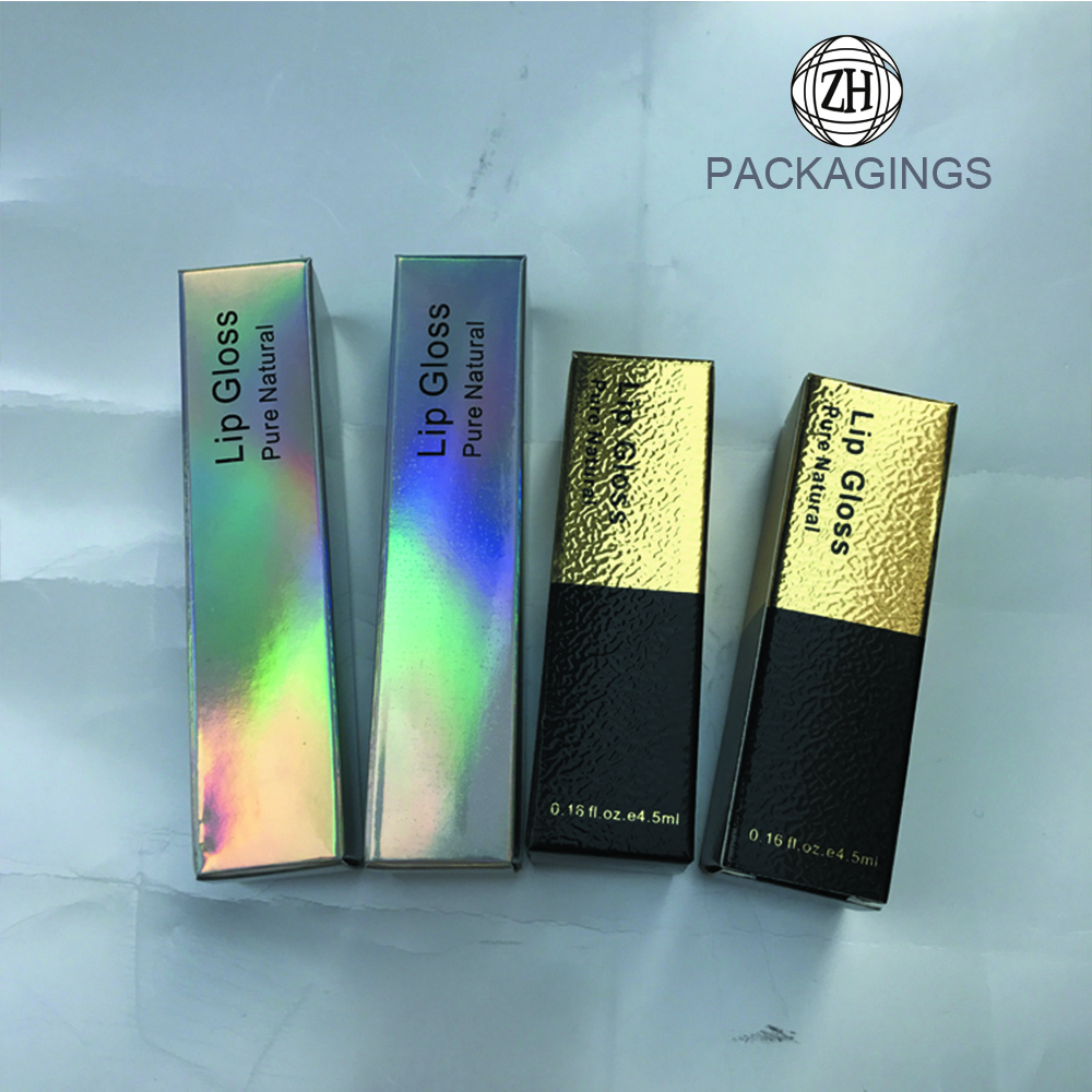 Customize Cosmetics Box Lip Gloss Boxes Packing