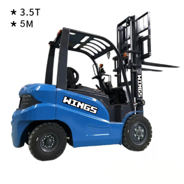 3.5 Tons Electric Forklift 5m