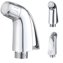 Chrome Hand Toilet Bidet Shattaf Shower Set