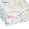 Soft Security Baby Cotton Hooded Multilayer Blankets