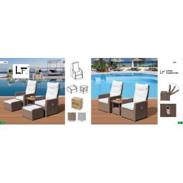 Rattan Sofa Garden Furniture Wicker Sofa Set