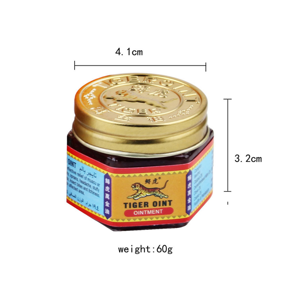 100% Original Red Tiger Balm Ointment Thailand Painkiller Ointment Essential Oil Muscle Pain Relief Ointment Soothe itch TSLM2