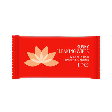 Custom Individually Packaged Hotel Wipes