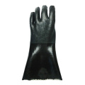 Black Double Dipped PVC.Sandy Finish 30cm
