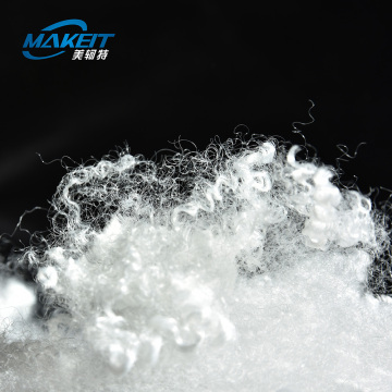 Hollow Eider down-Like Polyester Staple Fiber