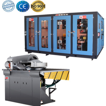 medium frequency iron steel copper metal gold smelter