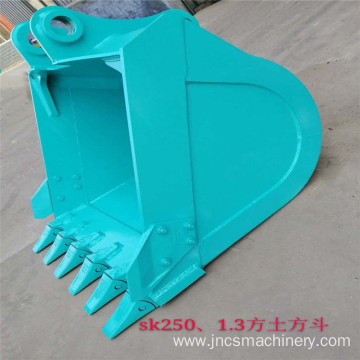Kobel-co 1.3cbm standard bucket with Q345B/NM400 steel
