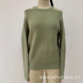 LADIES' KNITTED SWEATER GARMENT