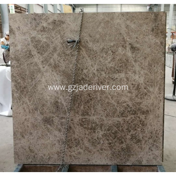 Dora Cloud Grey Durable Marble Slab Tiles