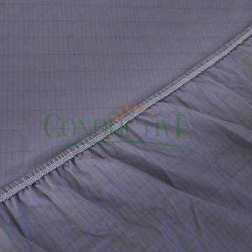 Conductive Bed Fitted Sheet For ESD Earthing
