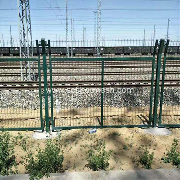Galvanized Frame Temporary Wire Mesh Fence