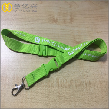 cheap custom jacquard woven plain lanyards