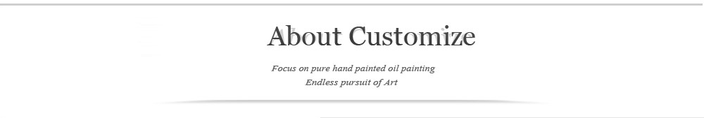 ABOUT CUSTOMIZE