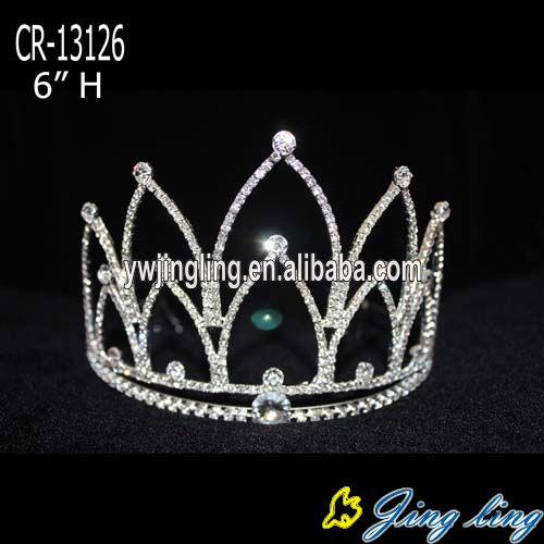 6 Inch Cheap pageant crowns