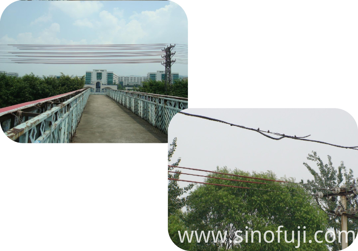 Application Demonstration (1) of SINOFUJI Overhead Line Cover