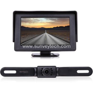Safety Vision Rearview License Plate Camera Vehicle Backup Camera for USA Canada