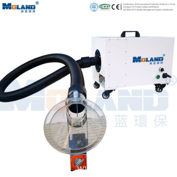 Portable Fume Extractor with HEPA Filter