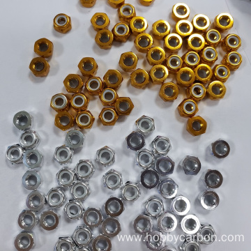 Alibaba colourful Aluminium Lock Nut with high quality
