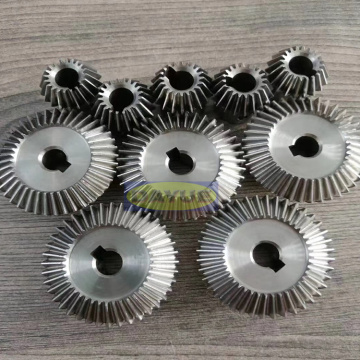 Precision machining of hardened steel helical gear