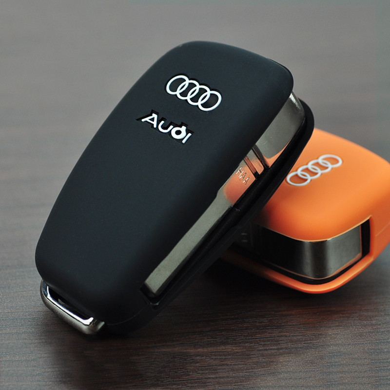 Audi silicone key cover