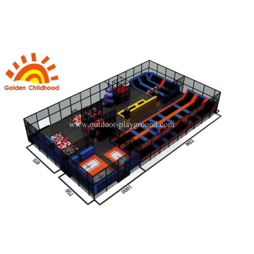 Trampoline Amusement Combination For Kids