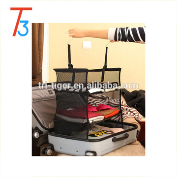 Portable travel storage shelf for Shoes, Clothes, Closet Organization